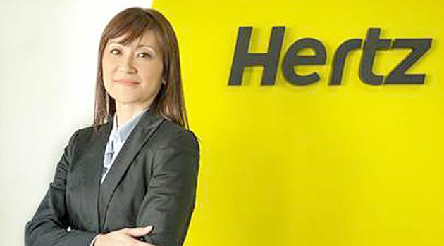 Ana Paula Kuba - diretora da Hertz no Brasil