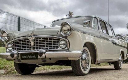 Empresa aposta em aluguel de carros clássicos pelo mundo