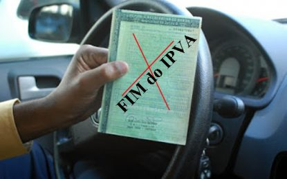 BOA NOTICIA – fim do IPVA: Carro não é patrimônio
