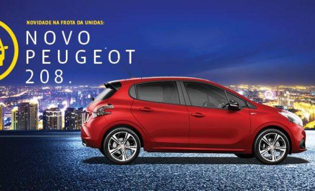 Unidas apresenta Peugeot 208 em seu portfólio