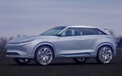Hyundai revela novo SUV movido a hidrogênio