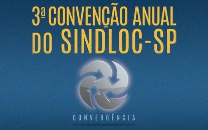3ª Convenção Anual do Sindloc-SP