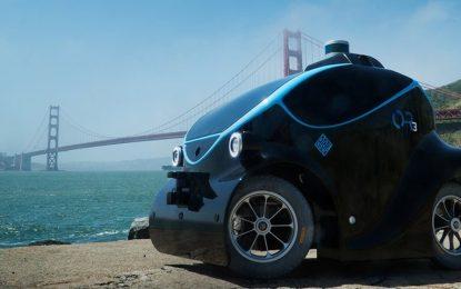 Carro-robô policial conta um com um drone próprio para perseguir bandidos