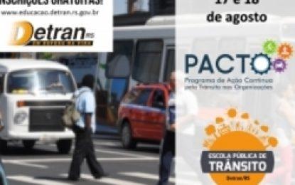 Detran/RS oferece curso de educação para o trânsito nas organizações