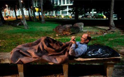 Com crise econômica, até executivos viram sem-teto no Rio de Janeiro