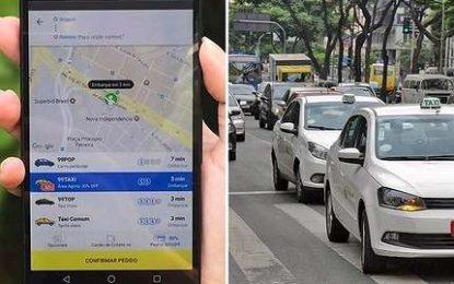 App concorrente de Uber e Cabify chega a BH com preço até 60% mais baixo que táxi