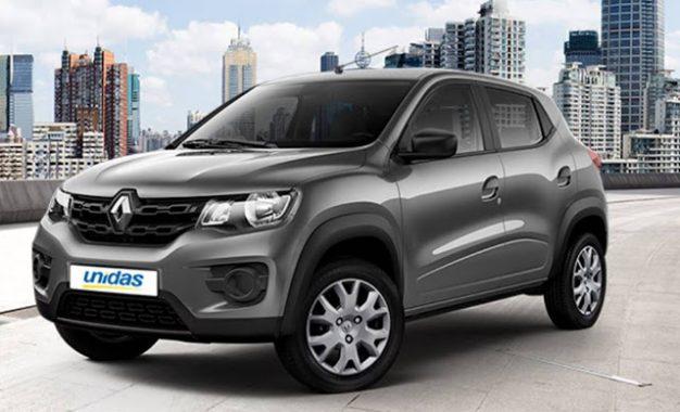 Renault Kwid chega à locadora Unidas