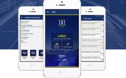 Aplicativo oferece desconto de 40% em multas e informações para condutores