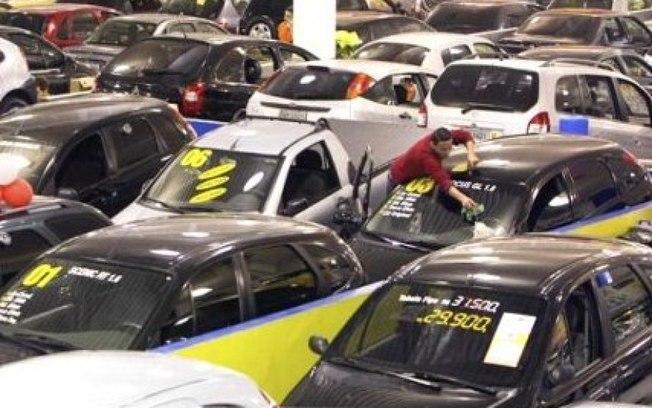 carros em loja