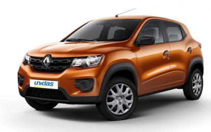 Unidas anuncia inclusão do Renault Kwid em sua frota