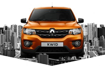 Tecnologia embarcada da Here no Renault Kwid