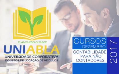 """UNIABLA promoverá em Campinas-SP dia 06/12 o curso """"Contabilidade para não contadores"""""""
