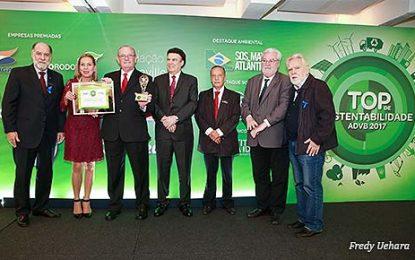 Fundação Toyota conquista Prêmio Top de Sustentabilidade ADVB 2017