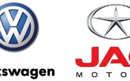 Volkswagen amplia presença na China em terceira parceria com a JAC Motors