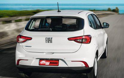 Fiat Argo tem recall para quase todas as unidades vendidas