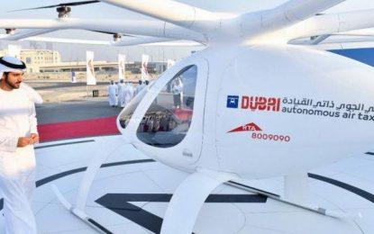 Dubai inicia testes com táxis voadores autônomos