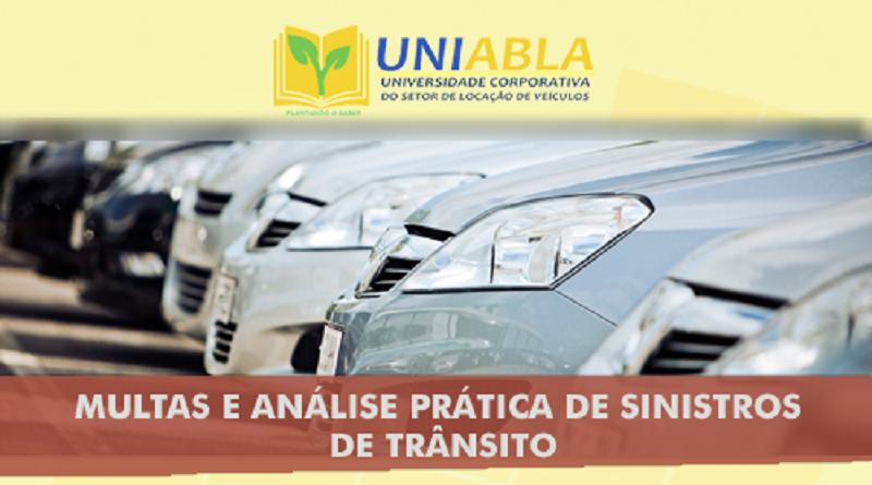 """UNIABLA promoverá em Belo Horizonte-MG dia 21/08 o curso """"Multas e Análise Prática de Sinistros de Trânsito"""""""