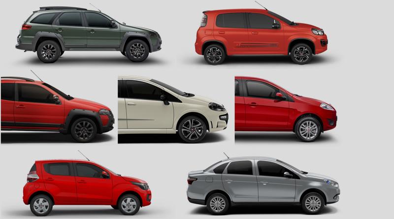 Fiat convoca para recall mais de 200 mil unidades