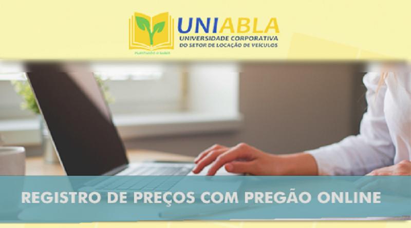 """UNIABLA promoverá em Recife-PE dia 21/08 o curso """"Registro de Preços com Pregão Online"""""""