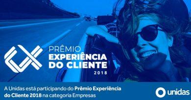 Unidas recebe Prêmio Experiência do Cliente