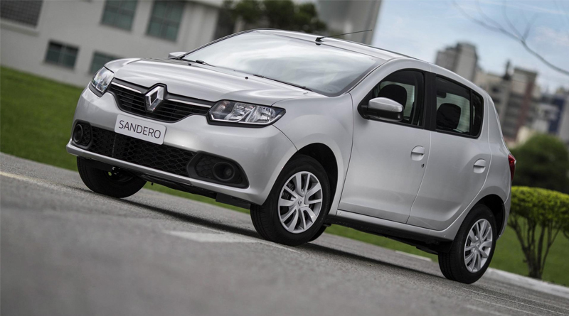 Renault Sandero lidera lista dos carros usados no Uber; veja ranking