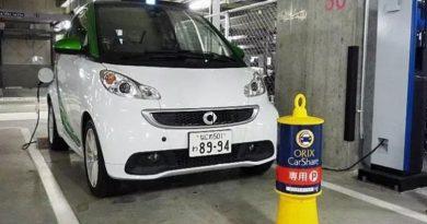Aluguel de carros cresce no Japão, mas os clientes não estão dirigindo