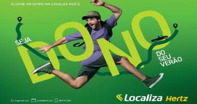 Campanha publicitária da Localiza Hertz para o verão - Imagem: divulgação