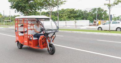 Uber e Movida iniciam operação com Tuk-tuk em Vitória