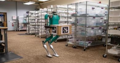O robô criado em parceria com a Ford está pronto
