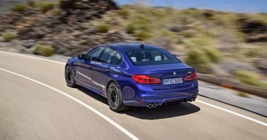 BMW faz recall de 52 unidades do M5 por defeito no câmbio