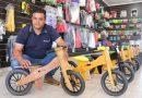 Com apoio do Tecpar, empresário cria bicicleta ecológica