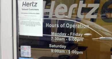 Hertz, após desistir oferta de ações, procura empréstimo de até US$ 1 bi