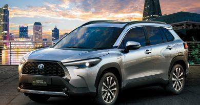Toyota prepara novo Corolla Cross para lançamento em 2021. Foto: Toyota/Divulgação