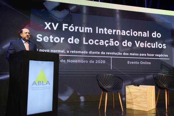 Assim como em 2020, o Fórum Internacional do Setor de Locação de Veículos deste ano será realizado virtualmente