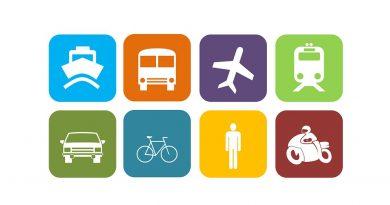 Tecnologia para locadoras se adequa à nova era de mobilidade. Crédito: Pixabay ( Vários modais de transporte )