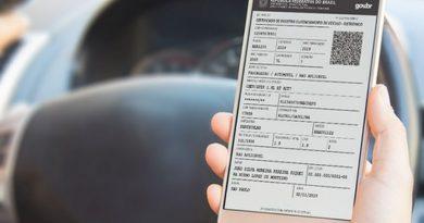 Serviço: a partir de 2021, documentação veicular será apenas digital. Imagem: Divulgação/Agencia Brasil