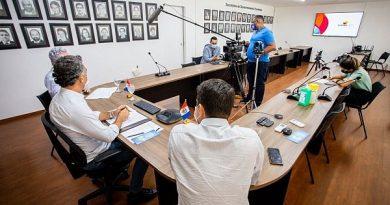Secretário detalha procedimentos e tira dúvidas sobre pacote emergencial para o turismo /Créditos: Agência Alagoas