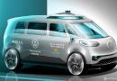 Volkswagen usará Kombi elétrica em inédito 'Uber sem motorista' em 2025