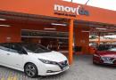 CVC anuncia serviço de locação de carros elétricos